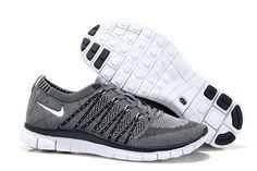 Nike Free 5.0 Flyknit Gray Black