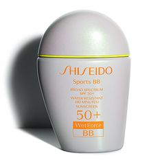 Shop Shiseido Sports BB Broad Spectrum SPF WetForce tinted sunscreen formulated with Shiseido& Ultimate Sun Protection formula and Wetforce Technology. Best Sunscreens, Face Lotion, Broad Spectrum Sunscreen, Moisturizer With Spf, Shiseido, Sun Protection, Health And Beauty, Mascara, Products