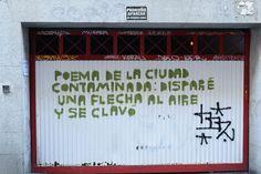 Calle de San Blas. Barrio Huertas y Las Letras. Madrid 2015.