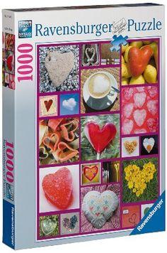 Ravensburger Hearts Abound 1000pc Jigsaw Puzzle: Amazon.co.uk: Toys & Games