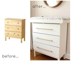 the picket fence projects: A changed changing table