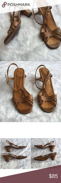 Ideas For Tan Wicker Patio Furniture Brown Wicker Patio Furniture, Wicker Sofa, Brown Furniture, Ankle Strap Heels, Ankle Straps, Hanging Patio Lights, Strappy Sandals, Shoes Sandals, Block Heels