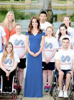 Duchess of Cambridge at SportsAids dinner