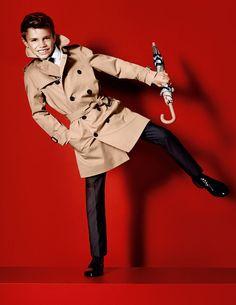 Romeo Beckham για Burberry: Στα χνάρια του πατέρα του..! #burberry #beckham #style #fashion #collection
