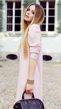 Blonde Couleur des Cheveux Ombre