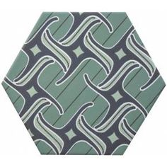 Carrelage hexagonal, la tomette grès cérame good vibes - GO0812004 Motif Oriental, Hexagon Tiles, Porcelain Tile, Pattern Paper, Good Vibes, Decoration, Origami, Commercial, Shapes