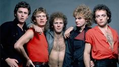 Submitted by Cashbox Canada Loverboy is a Canadian rock group formed in 1979 in Calgary, Alberta. Throughout the the band accumulated numerous hit songs in Canada and the United States, earning four multi-platinum albums and selling millions of records. Rock And Roll Bands, Rock N Roll, Big Hair Bands, Lynn Goldsmith, Rock Anthems, Pat Benatar, Rock Groups, 80s Music, Van Halen