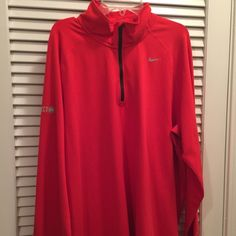 Nike Women's Dri-fit Nike Women's long sleeve Dri-Fit jacket.  Worn maybe once NWOT Nike Jackets & Coats