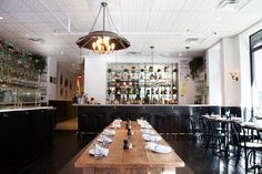 The interior of Galli restaurant on New York's Lower East Side.