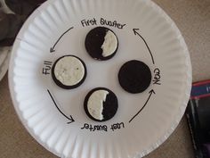 Teaching preschoolers phases of the moon with OREO (or other brand) of cookies! SERIOUSLY? This is genious! HOW CUTE!