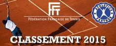 [Tennis] Sortie du classement FFT 2015 - #FFT #FrenchRanking #Tennis