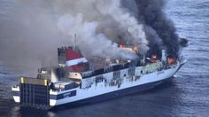 Acciona ferry evacuated during fire