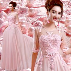 >> Click to Buy << z 2016 new arrival stock maternity plus size bridal gown  evening dress pink long sexy romantic princess 8238 #Affiliate