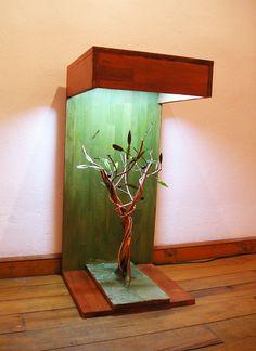 handmade stand - lamp