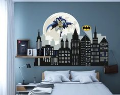 Custom Wall Decals and Murals for Home Decor by decalideas on Etsy Custom Wall Decals, Nursery Wall Decals, Wall Decal Sticker, Kids Bedroom Boys, Vinyl Art, Home Decor, Wall Stickers For Nursery, Decoration Home, Room Decor