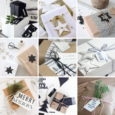DIY // Christmas gift wrapping