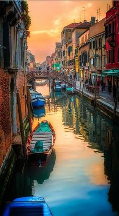 'Venicimo' Canal Sunset, Venice, Italy by Neil Cherry. Venice is amazing. Strolling or Gondolaing nothing better. Call The Travel Store to plan you vacation today Places Around The World, The Places Youll Go, Places To See, Around The Worlds, Places In Italy, Dream Vacations, Vacation Spots, Italy Vacation, Vacation Packages