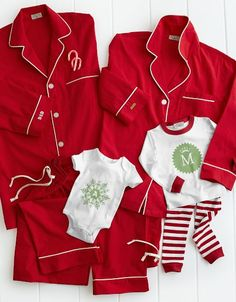 Christmas Eve Gifts: Christmas pj's for the entire family!