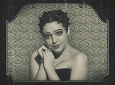 "Neither Helen Kane or Esther Jones, (Kane, a white girl, copied Cotton Club's Jones who had created ""boop oop a doop"" as her signature scat), but: Olya, taken in 2008 by a Russian-based studio, Retro Atelier."