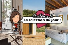 [Mlle. Lucie aime] Le best-of du jour   @planetedeco @planetedeco Deco, The Selection, Ticket, D Day, Deko, Dekoration, Decorating, Decor