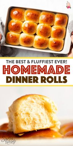 Easy Homemade Dinner Rolls (with Step by Step Video)