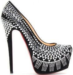 Christian Louboutin Decora 160mm Pumps in Silver