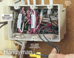 How to Rough-In Electrical Wiring   Electrical Repair and Wiring ...