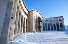 Museum and arctic science centre Arktikum -Rovaniemi, Lapland, Finland