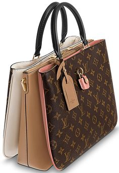 Doesn't it make you happy to see all the new bags from Louis Vuitton? It's a great start for that I can tell ya! Meet the Louis Vuitton Millefeuille Fall Handbags, Best Handbags, Hermes Handbags, Handbags On Sale, Luxury Handbags, Louis Vuitton Handbags, Purses And Handbags, Leather Handbags, Louis Vuitton Monogram