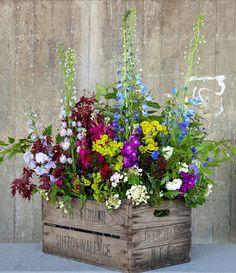 British Flowers Week 2014 at New Covent Garden Flower Market