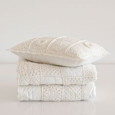 CROCHET COTTON QUILT AND CUSHION COVER - Quilts - Bedroom | Zara Home Spain