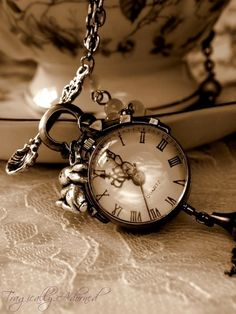 Old Clocks or pocket watches  From Ain't It Funny How Time Slips Away Board
