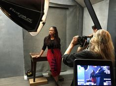 Director Ava Duvernay photographed by Annie Leibovitz for the 2016 Pirelli Calendar.