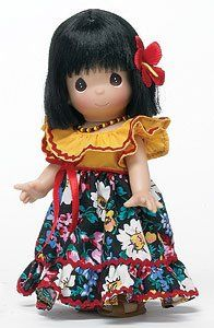 Precious Moments Dolls 2009 | Precious Moments Doll Children of the World Andrea – Puerto Rico ...