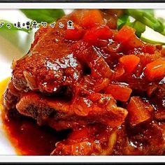 クリスマスの時の( *˘╰╯˘*)♥ - 131件のもぐもぐ - 牛スペアリブの味噌赤ワイン煮 by yu1011