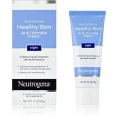 Neutrogena Healthy Skin Anti-Wrinkle Cream Night With Retinol, 1.4 Oz., Multicolor