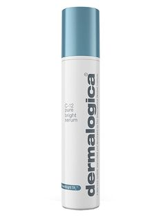 Dermalogica C-12 Pure Bright Serum After applying a thin layer of this serum to my face each morning and night, I noticed my skin tone was noticeably clearer and brighter after only one week. I'll probably riot if Dermalogica ever discontinues it.