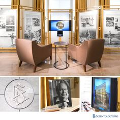 The Church of Scientology completed an elegant restoration and upgrade of the historic Clearwater Building, including the grand lobby that houses the new Scientology Information Center to provide a definitive introduction to the religion.