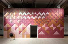 BAUX Träullit, Sound Absorbing Wall Panels by Swedish design studio Form Us With Love