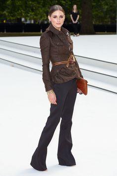 Olivia Palermo au premier rang du défilé Burberry Prorsum http://www.vogue.fr/mode/look-du-jour/articles/olivia-palermo-au-premier-rang-du-defile-burberry-prorsum/15869