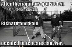 Richard & Paul of Rammstein! Haha