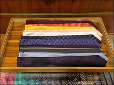 Necktie Windrows in Tray Aux Retail Merchandising, Wood Tray, Trays, Purpose, Shirts, Retail, Retail Boutique, Dress Shirts, Shirt