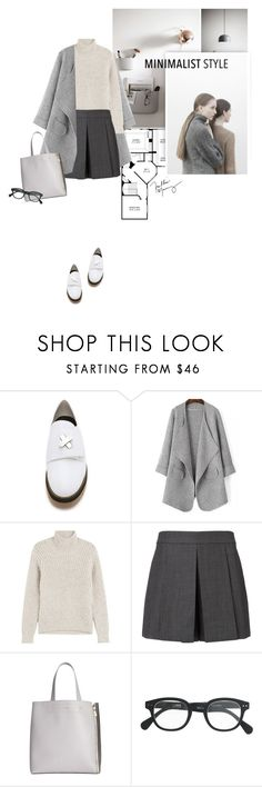 """""""chic Minimalist Style III"""" by anna-anica ❤ liked on Polyvore featuring Alexander Wang, Closed, Furla and J.Crew"""