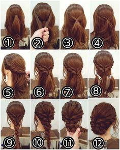 12 Amazing Updo Ideas for Women with Short Hair Best Hairstyle Ideas is part of Braided hairstyles - Check out these 12 amazing and gorgeous hair updo ideas for women with short hair Hair updo Ideas Updo for short hair easy updo Fancy Hairstyles, Medium Hairstyles, Bouffant Hairstyles, Asian Hairstyles, Hairstyle Ideas, Hairstyle Short, Step By Step Hairstyles, Easy Elegant Hairstyles, Updo For Long Hair