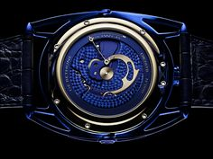 Buy A Piece Of Universe For $278,000 - De Bethune DB28 Kind Of Blue Tourbillon Meteorite #Luxury #watches #Fashion