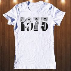The 1975 Band  T Shirt  Music T Shirt Women T Shirt All by Shaloom, $16.98