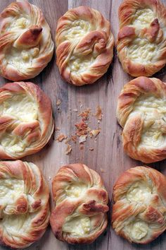 If you're interested in veering off into the world of German pastry-making, give this sumptious recipe a try. Puddingbrezels are made with a pretzel-shaped dough, and filled with a sweet vanilla pudding - much like a Danish! Have a go at it here: http://foodal.com/recipes/desserts/puddingbrezel-german-pastry/ 