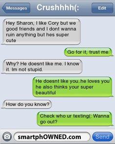 Com funny text conversations, funny texts crush, crush texts, funny text Funny Texts Jokes, Text Jokes, Funny Text Fails, Epic Texts, Funny Quotes, Humor Texts, Funny Sms, 9gag Funny, Memes Humor