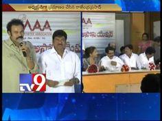 Rajendra Prasad sworn in MAA President, event attended by cine bigwigs