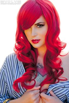 OMG that is my favorit color :) hair, hair color, red hair, red My Hairstyle, Pretty Hairstyles, Wedding Hairstyles, 70s Hairstyles, Perfect Hairstyle, Love Hair, Gorgeous Hair, Beautiful Redhead, Look 2015